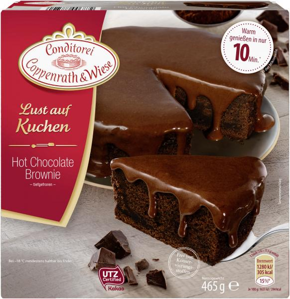 Coppenrath & Wiese Lust auf Kuchen Hot Chocolate Brownie