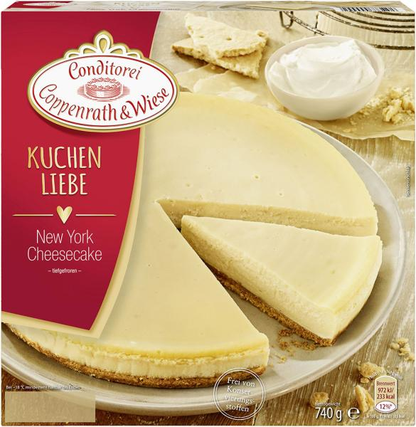 Coppenrath & Wiese Kuchenliebe New York Cheesecake