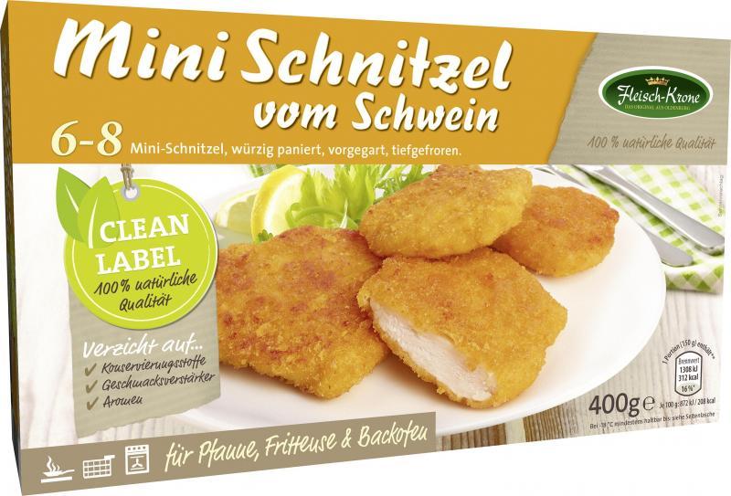 Fleisch-Krone Mini-Schnitzel vom Schwein