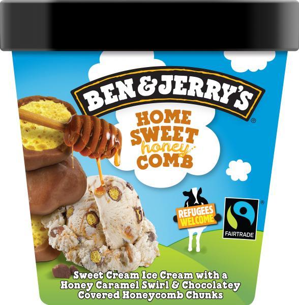 Ben & Jerry's Home Sweet Honey Comb