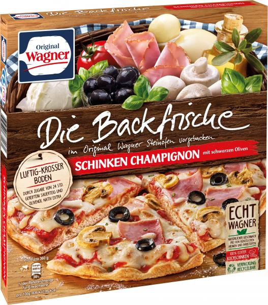 Original Wagner Die Backfrische Schinken Champignons