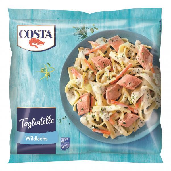 Costa Fettuccine Garnelen & Wildlachs
