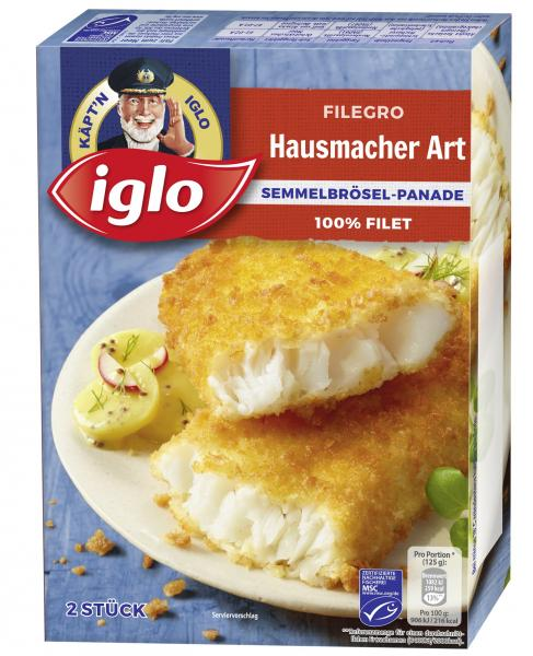 Iglo Filegro Hausmacher Art Knusper-Panade