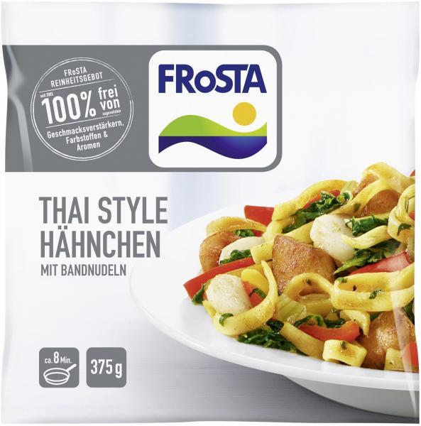 Frosta Thai Style Hähnchen mit Bandnudeln