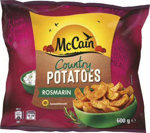 McCain Country Potatoes Rosmarin