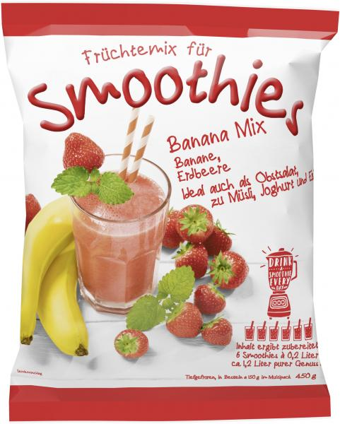 Jütro Früchtemix für Smoothies Banana Mix