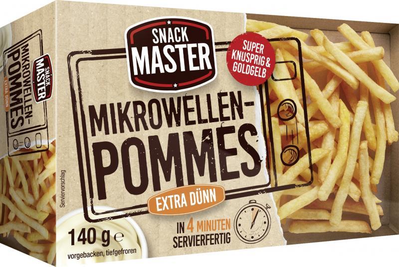 Schwarmstedter Mikrowellen Pommes extra dünn