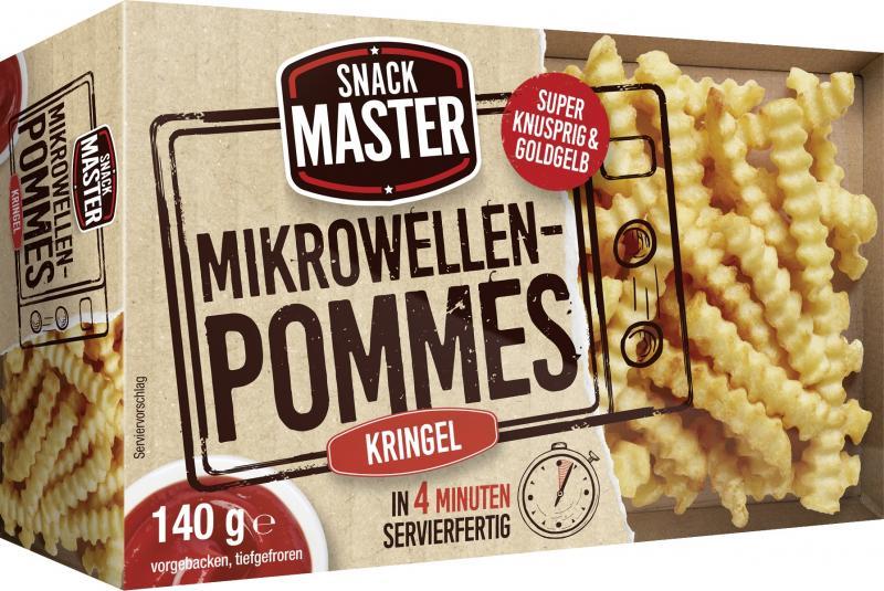 SnackMaster Mikrowellen Pommes Kringel