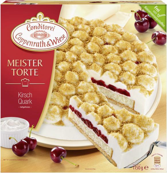 Coppenrath & Wiese Meistertorte Kirsch-Quark-Torte