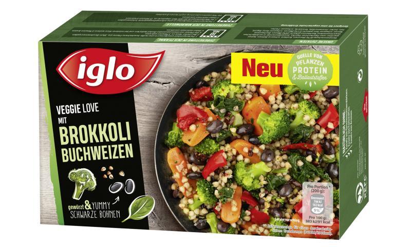 Iglo Veggie Love Brokkoli Buchweizen mit schwarzen Bohnen