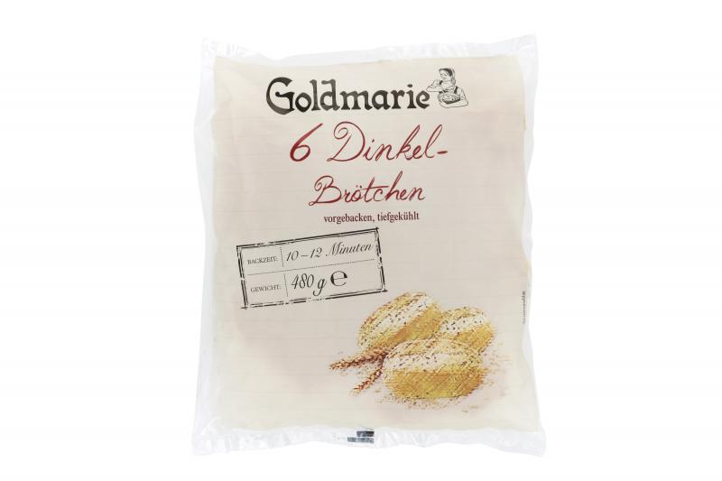 Goldmarie Dinkelbrötchen 6er