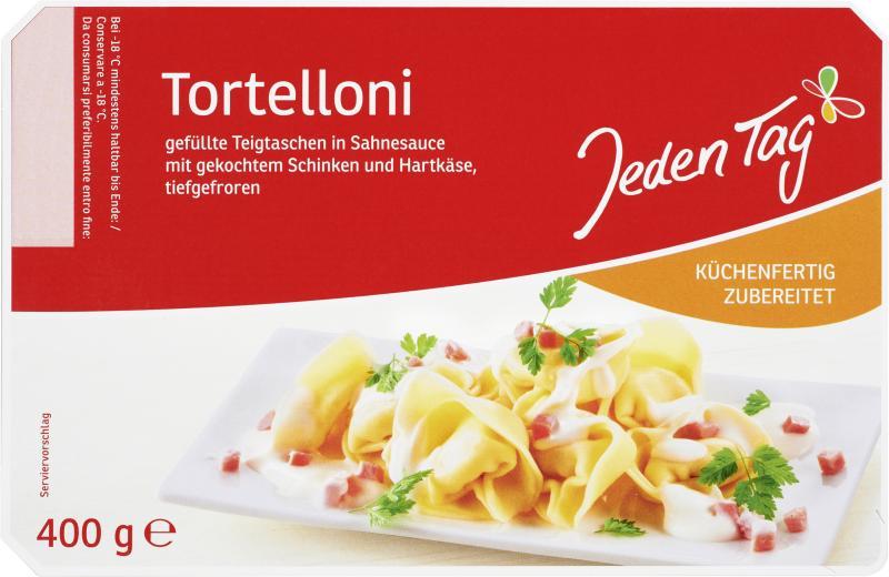 Jeden Tag Tortelloni Schinken