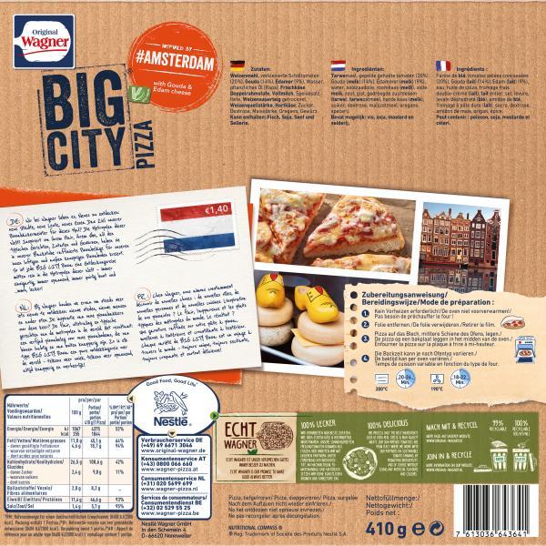 Original Wagner Big City Pizza Amsterdam