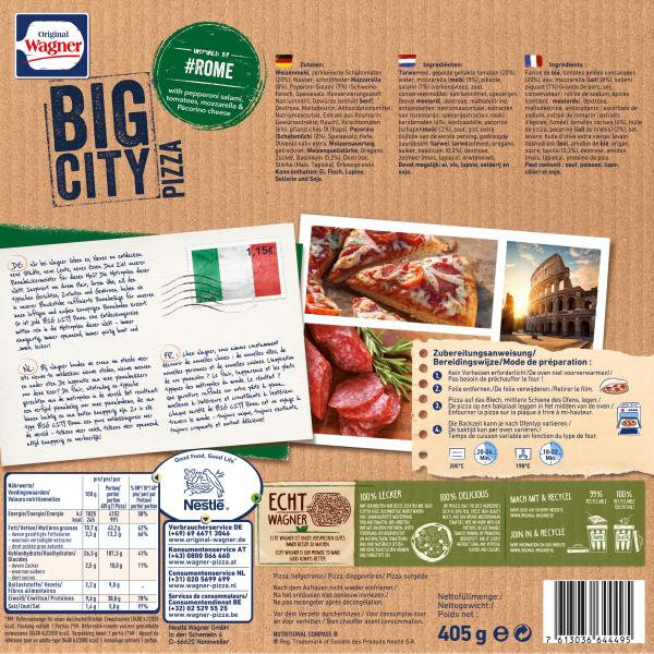 Original Wagner Big City Pizza Rome