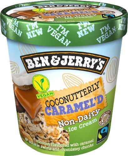 Ben & Jerry's Coconutterly Caramel'd