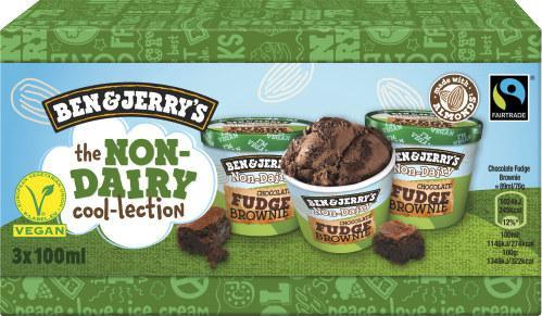 Ben & Jerry's Chocolate Fudge Brownie vegan