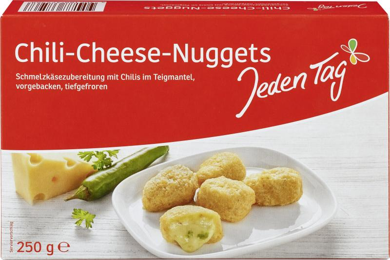 Jeden Tag Chili Cheese Nuggets