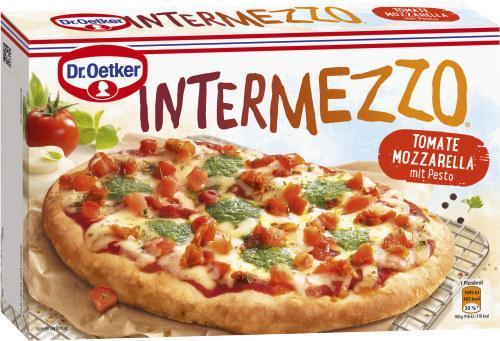 Dr. Oetker Intermezzo Tomate Mozzarella mit Pesto