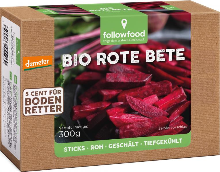 Followfood Bio Rote Bete Demeter