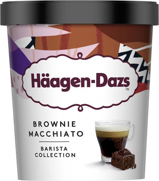 Häagen-Dazs Eiscreme Brownie Macchiatto