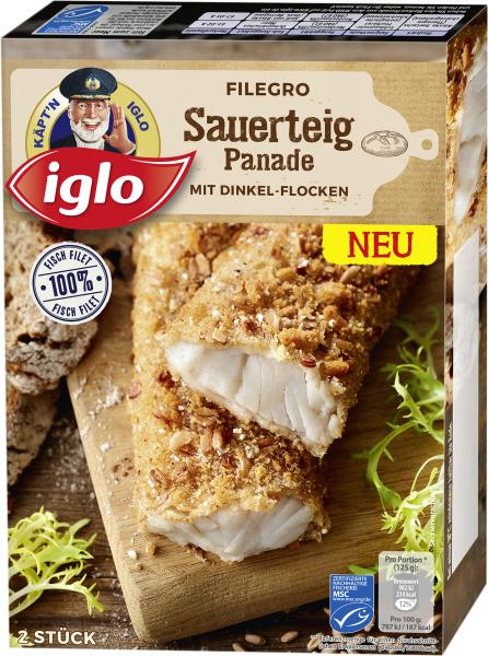 Iglo Filegro Sauerteig Panade mit Dinkel-Flocken