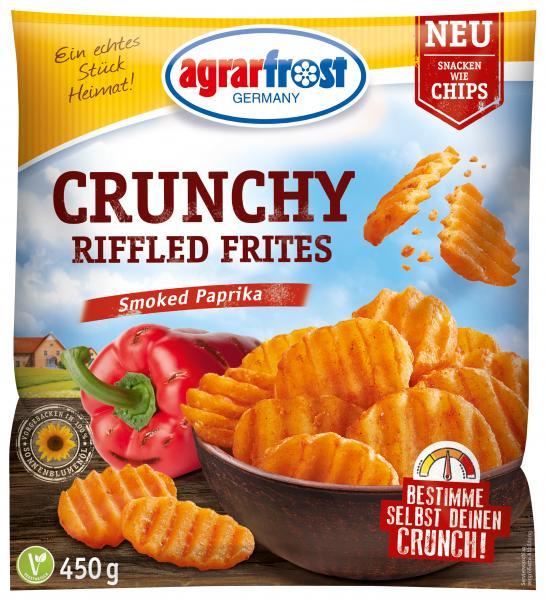 Agrarfrost Crunchy Riffled Frites