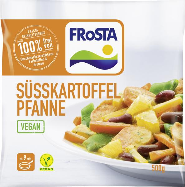 Frosta Süßkartoffel Pfanne