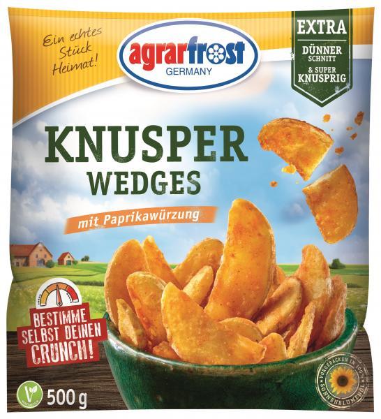 Agrarfrost Knusper Wedges mit Paprikawürzung