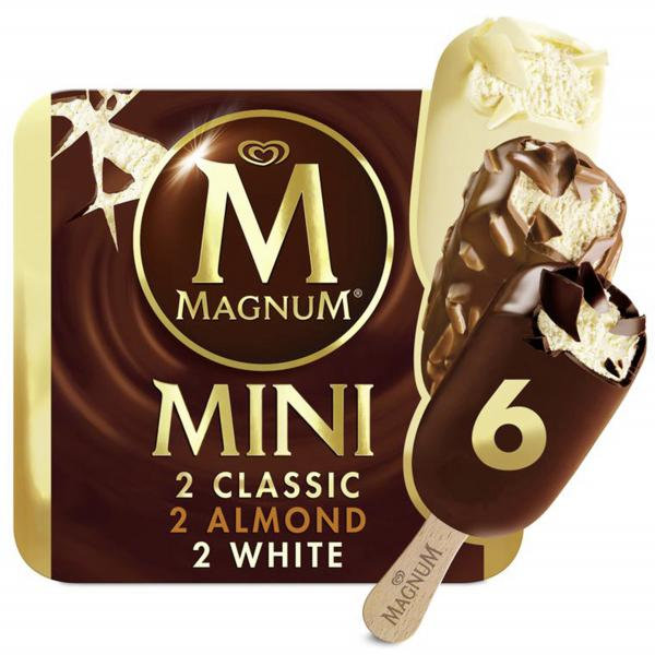 Magnum Mini Mix Classic White Mandel