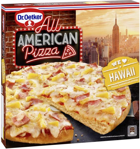 Dr. Oetker All American Pizza Hawaii