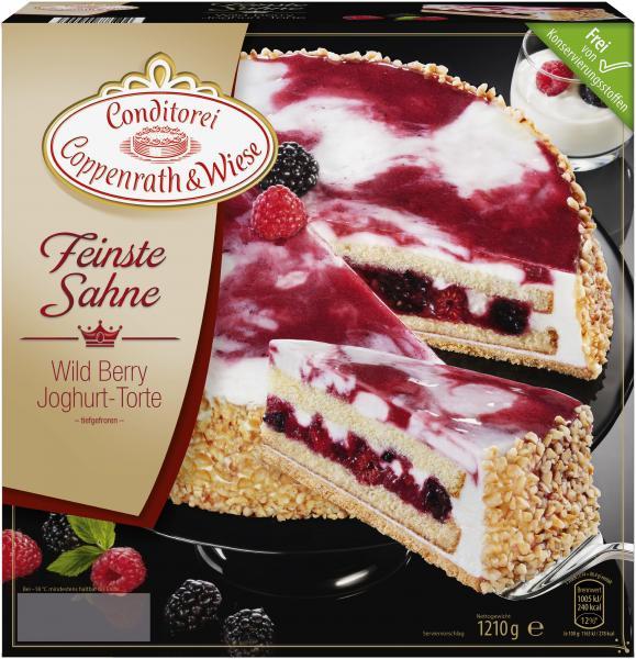 Coppenrath & Wiese Feinste Sahne Wild Berry Joghurt-Torte