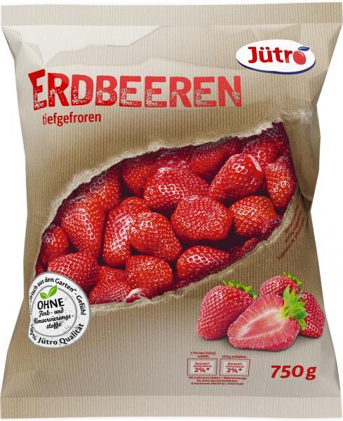 Jütro Erdbeeren