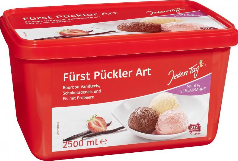 Jeden Tag Eiscreme Fürst Pückler Art