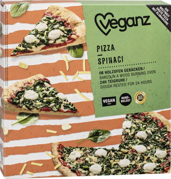 Veganz Pizza Spinaci