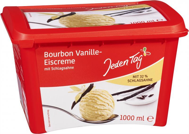 Jeden Tag Eiscreme Bourbon Vanille