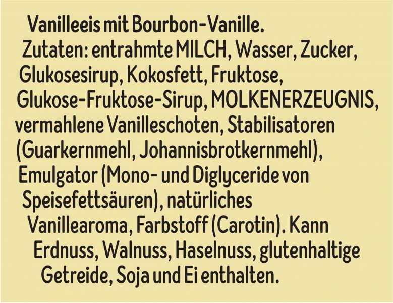 Cremissimo Bourbon Vanille