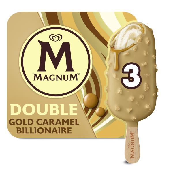Magnum Double Gold Caramel Billionaire