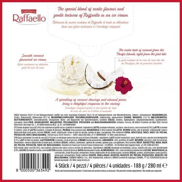 Ferrero Raffaello Eis