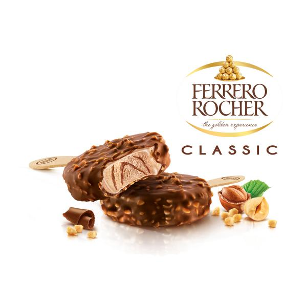 Ferrero Rocher Ice Cream Classic