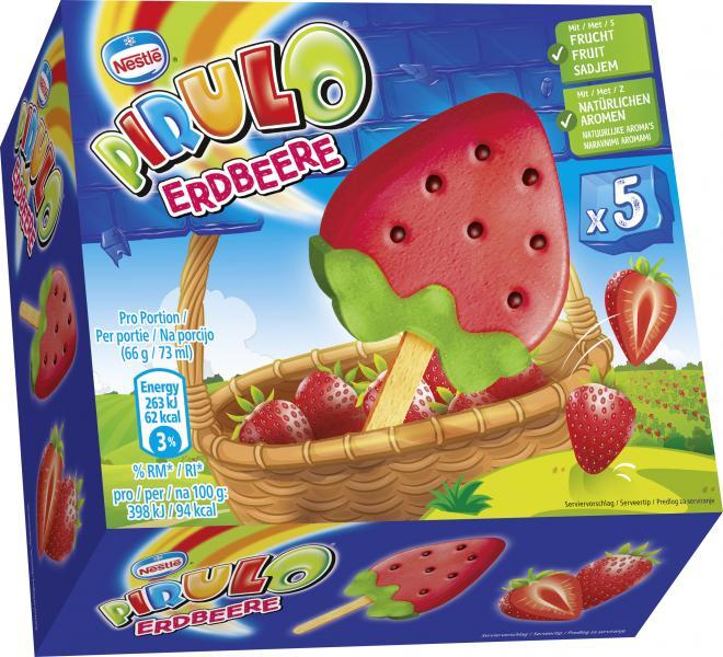 Nestlé Pirulo Erdbeere