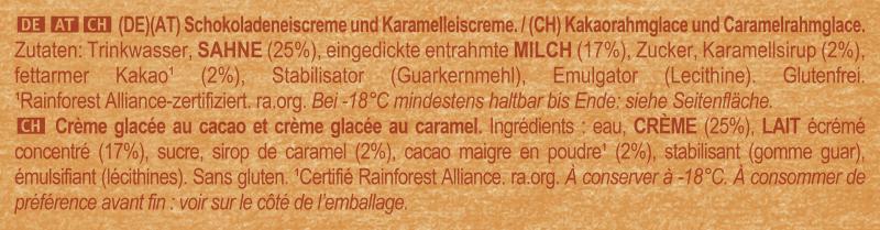 Likkies Eis Chocolate Caramel