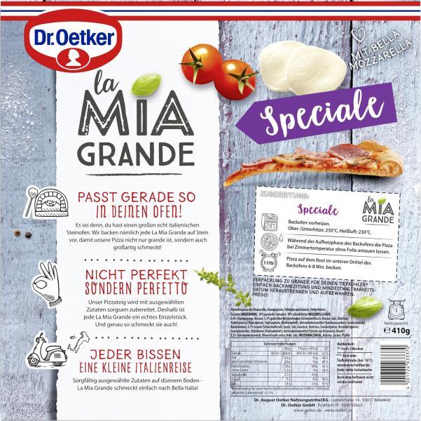 Dr. Oetker La Mia Grande Pizza Speciale