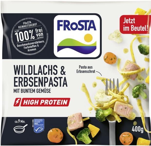Frosta High Protein Wildlachs & Erbsenpasta