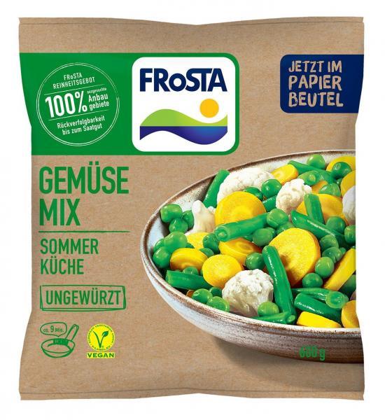 Frosta Gemüse Mix Sommer Küche ungewürzt
