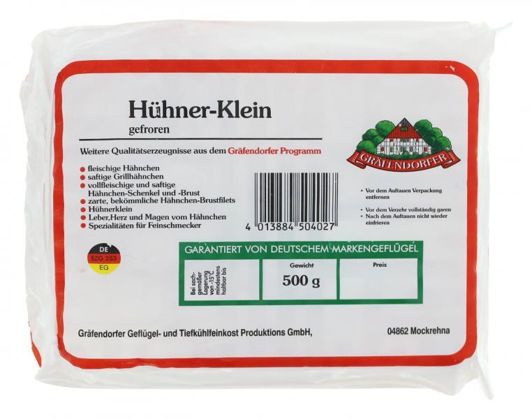 Gräfendorfer Hühner-Klein