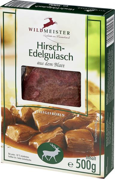 Wildmeister Hirschgulasch