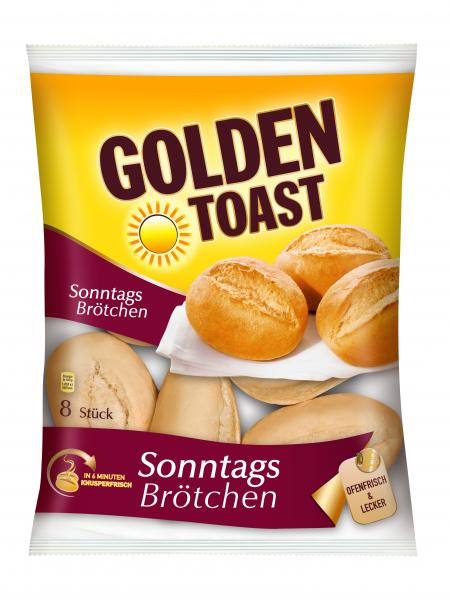 Golden Toast Sonntagsbrötchen