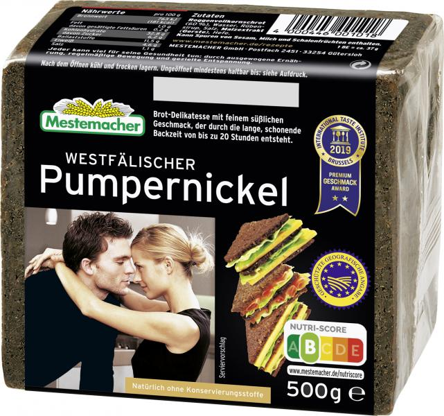 Mestemacher Echt westfälischer Pumpernickel