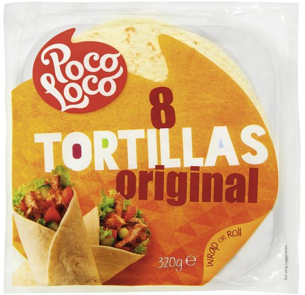 Poco Loco Tortillas Original