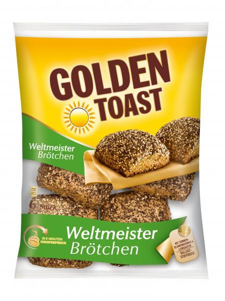 Golden Toast Weltmeisterbrötchen